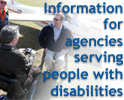 info for agencies serving people with disabilities